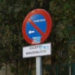 ¿Puede la Autoridad municipal modificar la señalización vertical?