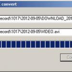 Conversor de formato DAV (Cámara de seguridad) a AVI para adjuntos en Atestados.